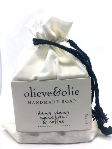 Soap Ylang Ylang, Mandarin & Coffee 240g (3 per pack)