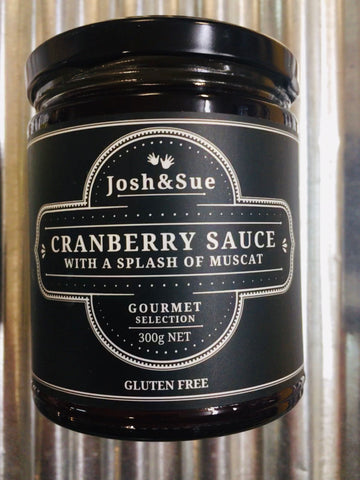 Josh&Sue Cranberry Sauce with a Splash of Muscat 300g