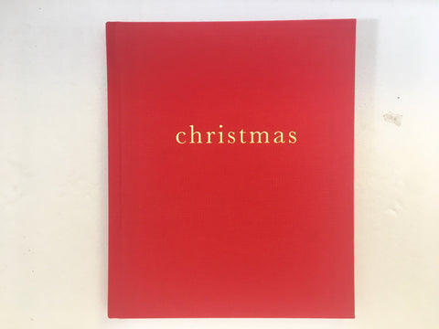 Family Christmas Book (Red)