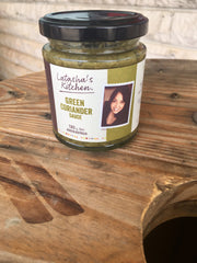 Latasha's Kitchen Green Coriander Sauce - SPICY