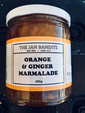 Jam Bandits Orange & Ginger Marmalade 285g