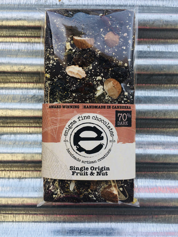 Enigma SMALL (70%) Dark Fruit and Nut 50g