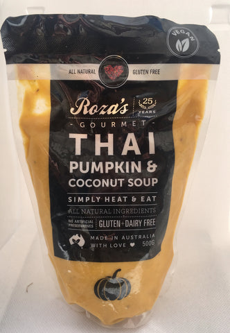 Roza's Gourmet Roasted Thai Pumpkin & Coconut Soup 500g