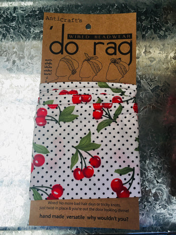 Do-Rag - Cherries on White
