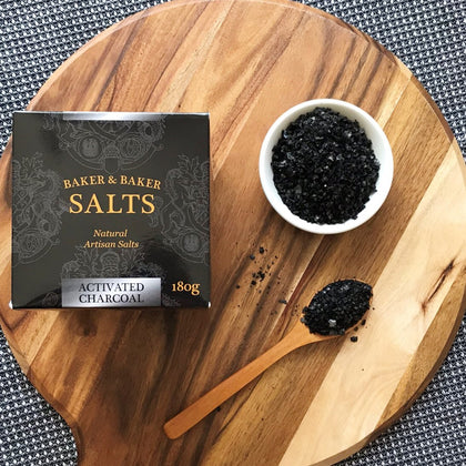 Baker&Baker Activated Charcoal 180g Gourmet Box