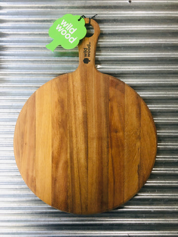 Chopping Board - Wild Cooma Round Paddle
