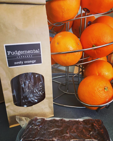 Fudgemental Zesty Orange 200g
