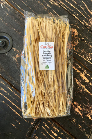 Roasted Pumpkin and Nutmeg Linguine Pasta 200g