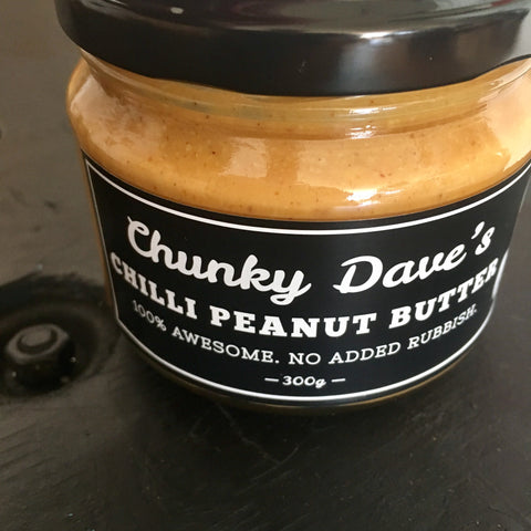 Chunky Dave's Chilli Peanut Butter 300g