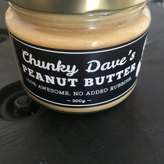 Chunky Dave's Smooth Peanut Butter 300g