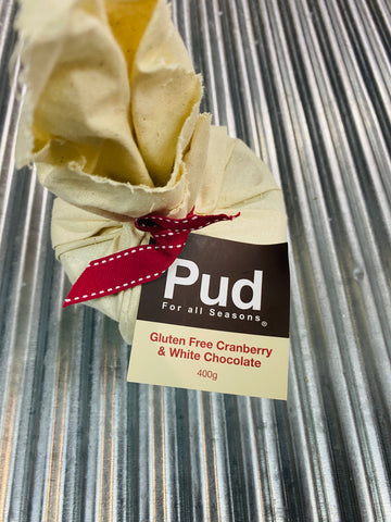 PUD GF Cranberry & White Chocolate Pudding 400g