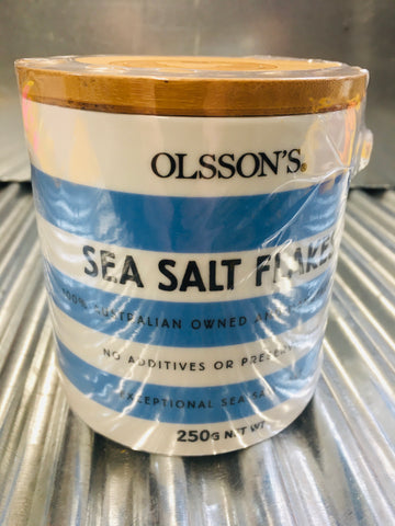 Pure Sea Salt from Olsson's 250g