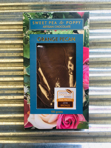 SweetPea&Poppy Large Orange & Pecan 100g