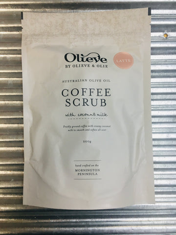 Coffee Scrub Latte 200g