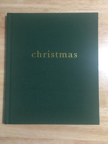 Family Christmas Book (Forest Green)