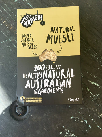 Get Farmed Natural Muesli