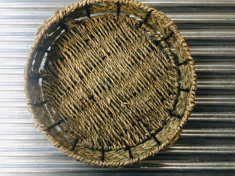 Reed Circular Display Bowl