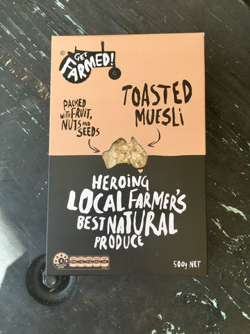 Get Farmed Toasted Muesli