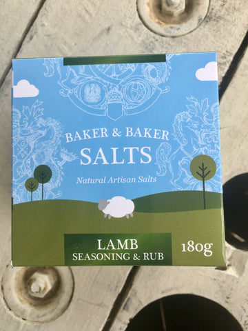Baker&Baker Lamb Seasoning & Rub 180g Gourmet Box