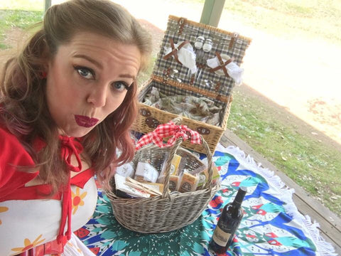 Rent one of our Vintage Picnic Baskets