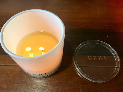 Keri Premium Soy Candles 110g - Peach & Berry Fig