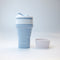 Collapsible Coffee Cup  300ml (Blue)