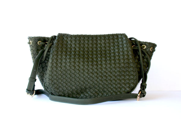 Laura Woven Cross body