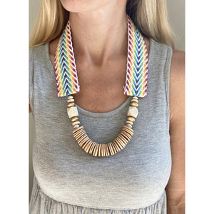 Colorful Strap Necklace