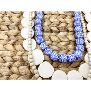 Layered Tribal Chinoiserie Necklace