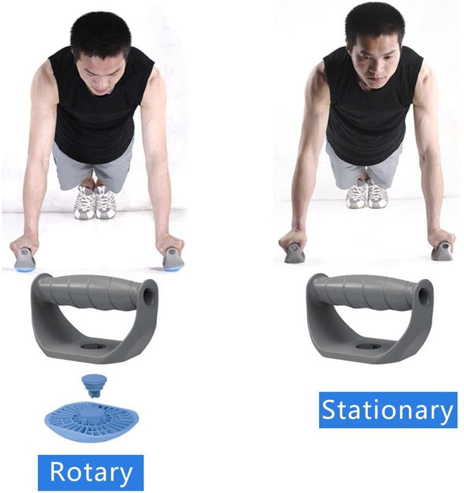 Push-Up Stand Rack Rotating Rotatable Fitness Chest Training Equipment