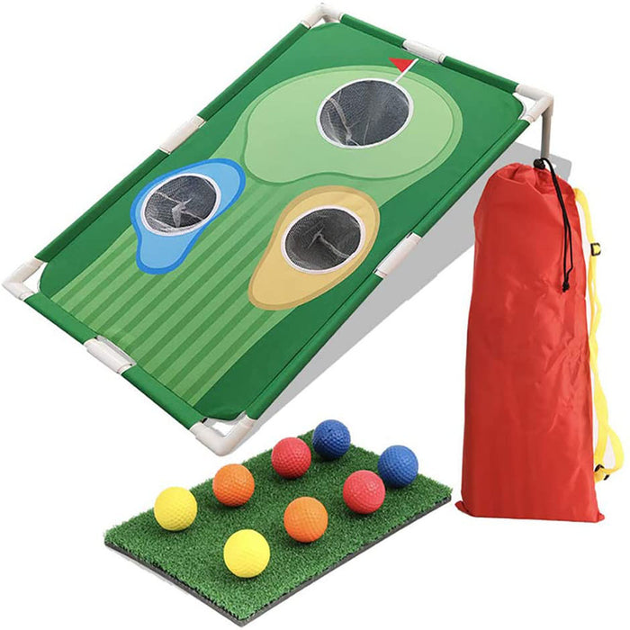 Portable Golf Practice Hole Board Set