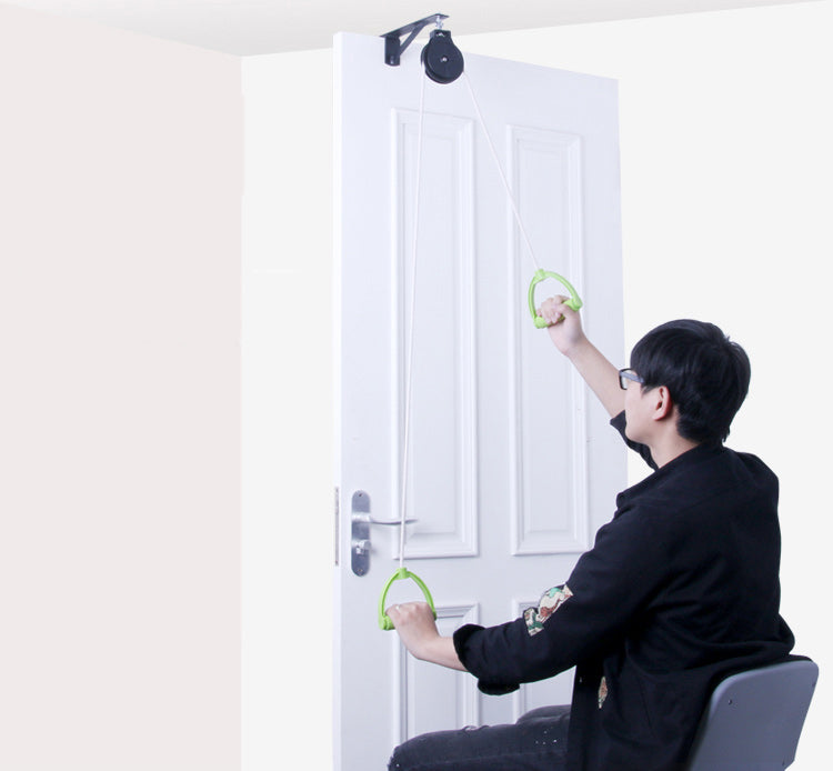 Shoulder Exercise Pulley Over Door Rehab Exerciser for Frozen Shoulder Arm Rehabilitation