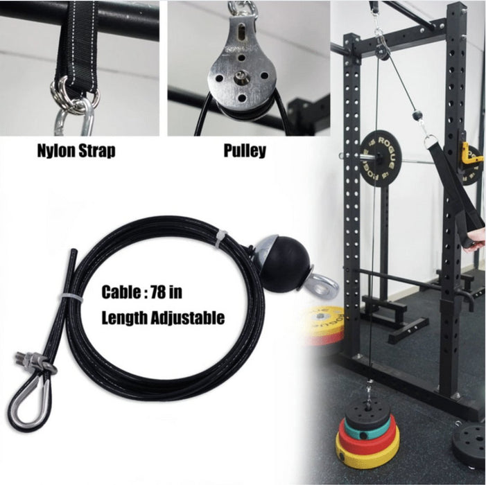 DIY Cable Pulley System