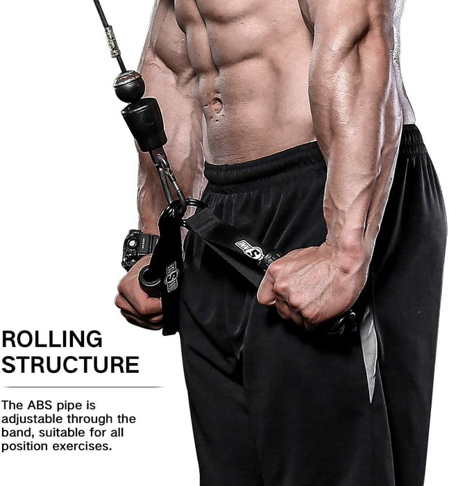 Gym Cable Handles Resistance Band Handles Only Fitness Grip