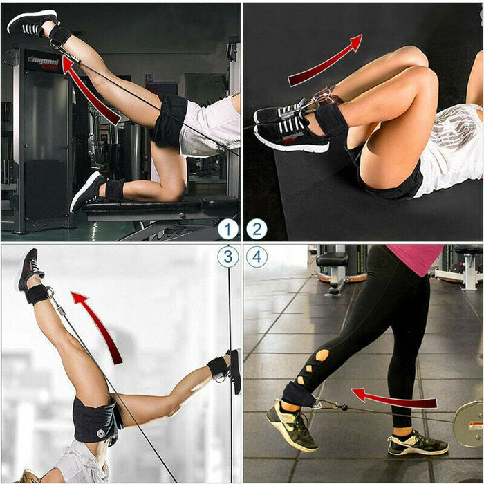 Fitness Ankle Buckle Ankle Ring Strap Hook Leg Accessories