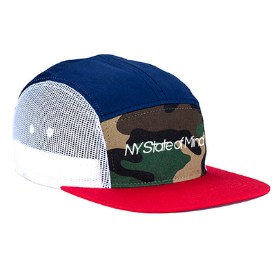 Mesh 5 Panel Hat by NY State of Mind™