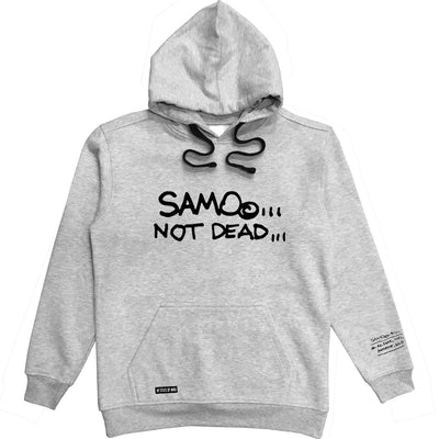 """SAMO©... NOT DEAD..."" / Al Diaz Hoodie for NY State of Mind™"