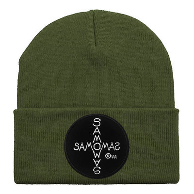 SAMO©... Cross by Al Diaz Knit Beanie