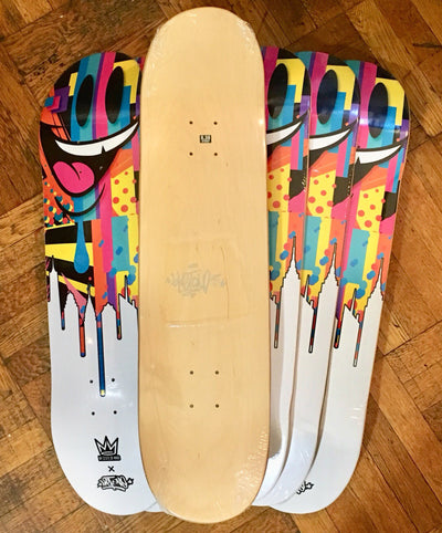 Phase 1 Drip by Sket One Skateboard Deck (signed)