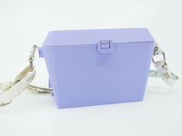 Sturdy Lilac Diamond Purse With Lots of Compartments