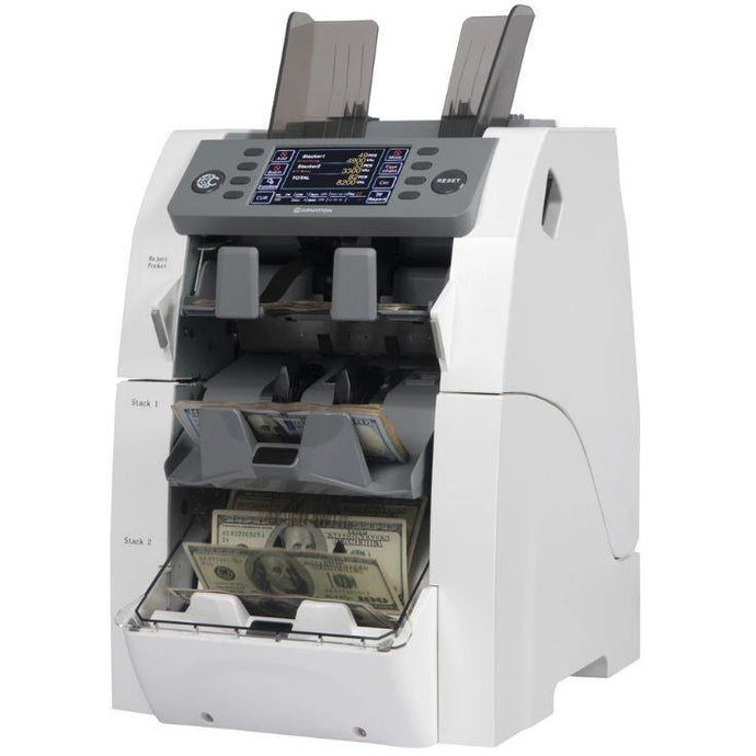 Carnation 3 Pocket Mixed Denomination Currency Counter CR2500