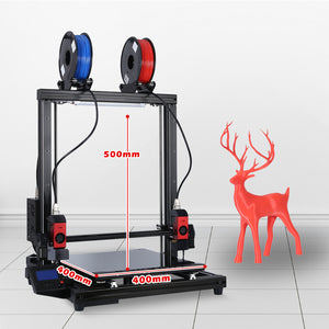 Formbot Large Format Multifunction 3D Printer T-Rex 2+ with 400x400x500mm Build Size T-Rex2+