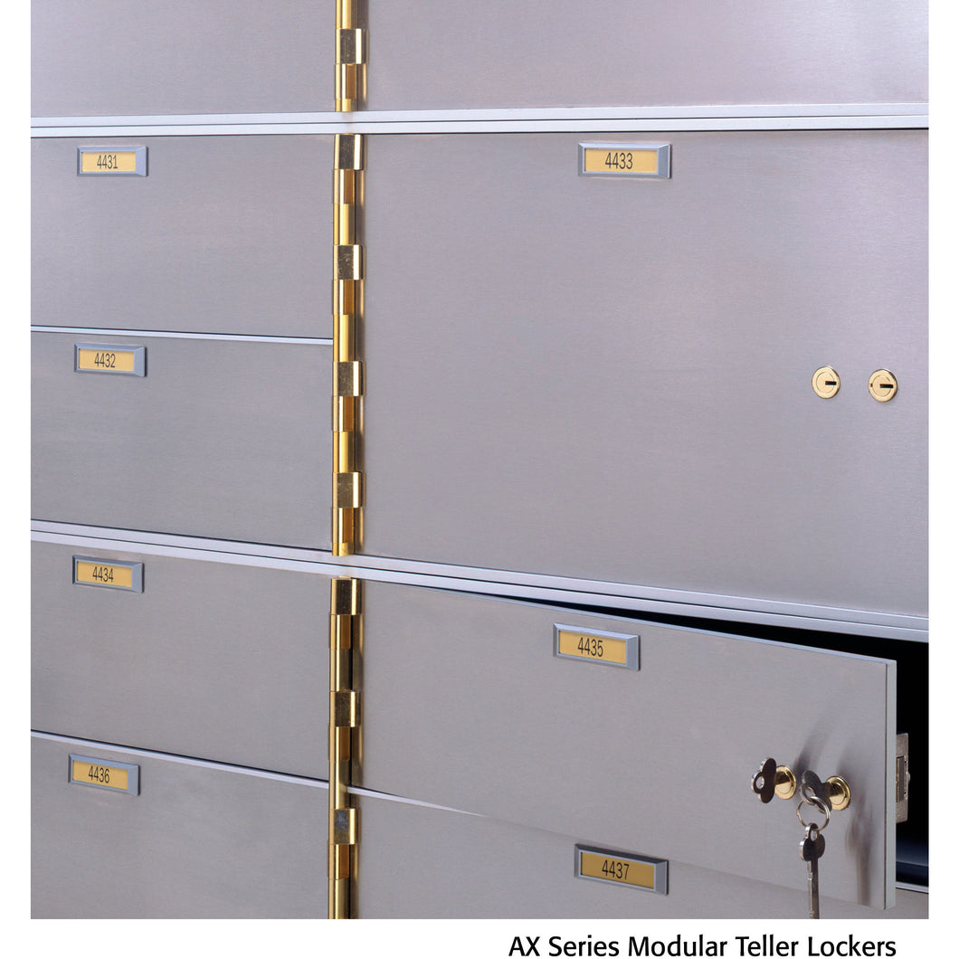 Socal Safe AX Series Modular Teller Lockers AXL-2-22