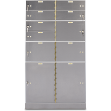 Load image into Gallery viewer, Socal Safe AX Series Modular Teller Lockers AXL-2-22