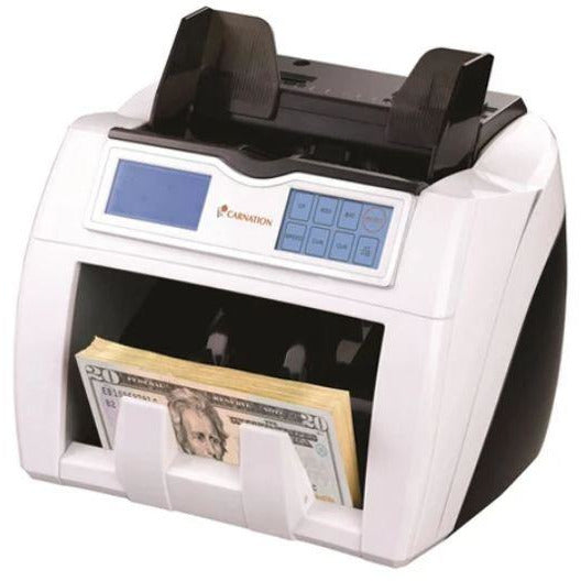 Carnation Bank Grade Money Counter UV MG IR With Touchscreen Panel CR2