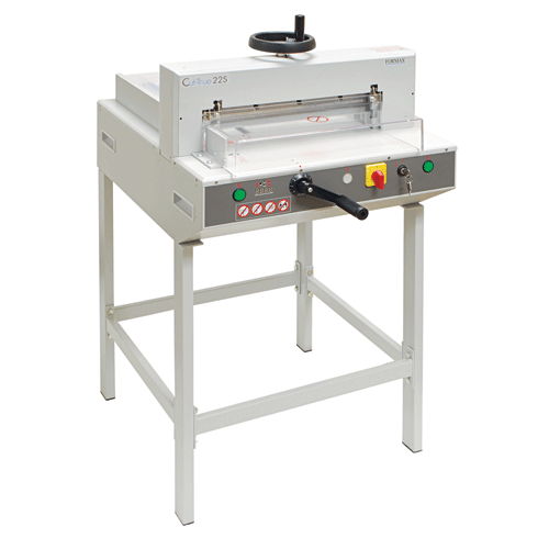 Formax Semi-Automatic Guillotine Cutter Cut-True 22S