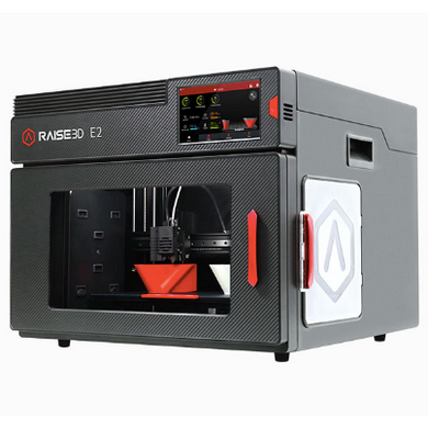 Raise3D E2 Independent Dual Extruders Auto-Leveling Desktop 3D Printer