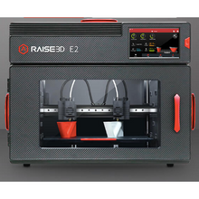 Load image into Gallery viewer, Raise3D E2 Independent Dual Extruders Auto-Leveling Desktop 3D Printer