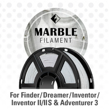 Load image into Gallery viewer, FlashForge Marble Filament 1.75 MM 3D-FFG-MARBLE