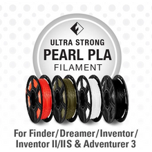 Load image into Gallery viewer, FlashForge D-Series Ultra Srong PLA Filament 1.75 MM 3D-FFG-DPPLANA